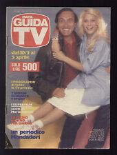 NUOVA GUIDA TV 13/1986 PIPPO BAUDO HEATHER PARISI GIORGIA PASSERI BIM BUM BAM