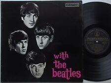 BEATLES With The Beatles OZ '63 MONO Lp BLACK GOLD 1st Press AUSTRALIA VG/VG+
