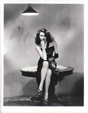 "AVA GARDNER b&w 8X10 Photo Glamour Portrait 1946 ""THE KILLERS"" Movie Star #275"