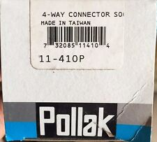 Pollak - 4-Way Conector Heavy Duty Connector Socket  11-410P RV CAMPER