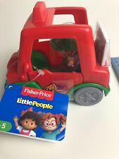 Fisher Price Little People Have a Slice Pizza Delivery Car w/ Figure GGT38 NEW