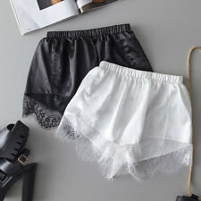 Women's Safety Lace Shorts Render Pants Tights Bottoms Under Trousers Shorts w/