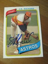 2005 Topps All-Time Fan Favorites Autograph #FFA JR J.R. Richard - Astros     ZB