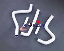 silicone radiator hose for Kawasaki KX250 1994-2002 95 96 97 98 99 00 01 WHITE