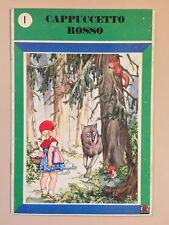 Cappuccetto Rosso Cuccioletti 1 Ed. AMZ 1979 3a edizione