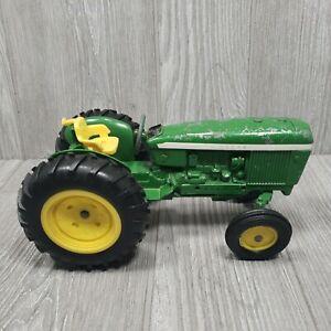 "Vintage ERTL John Deere Toy Tractor #584 Cast Metal Green 8"" Long"