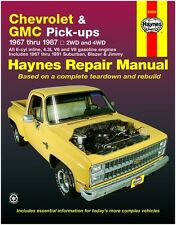 HAYNES REPAIR MANUAL 24064 CHEVROLET & GMC PICK UP'S '67-'87