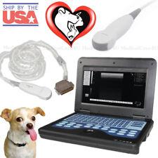 Veterinary Ultrasound Scanner Laptop Machine 5.0M Micro Convex Probe Small Vet