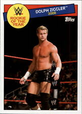 2015 Topps WWE Heritage Rookie of the Year #23 Dolph Ziggler