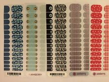 Jamberry Junior Nail Wraps Retired Half Sheet Lot #3