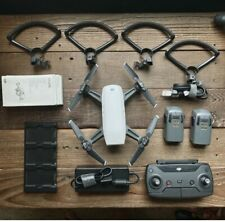 DJI Spark Fly More Combo 1080p Camera Drone - White