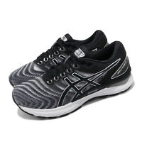 Asics Gel-Nimbus 22 D Wide White Black Women Running Shoes Sneakers 1012A586-100