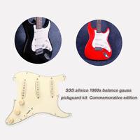 Classic Prewired Loaded Pickguard Alnico V Pickups for Fender Strat Guitar USA