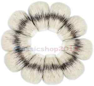 Maseto 22&24&26mm 100% Natural Boar Bristle Shaving Brush Knot/3&6&10&50&100pcs