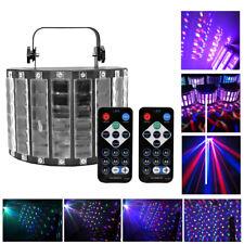 U`King RGBW LED Stage Strobe Light DJ KTV Projector Disco Laser effect + Remote