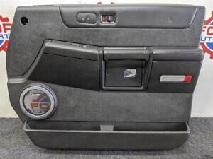 03-07 Hummer h2  Right front passenger side door panel black oem