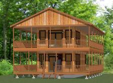 16x30 House -- 1 Bedroom  -- PDF Floor Plan -- 873 sq ft -- Model 10B
