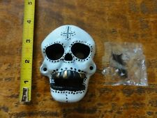 Cast Iron Wall Mounted Skull Bottle Opener Bar Beer Day Of The Dead