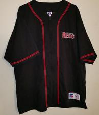 Vintage Mlb Cincinnati Reds Baseball Embroidered Zip Up Jersey Men's Size Large