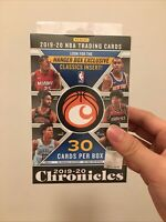 2019/20 Panini Basketball Chronicles Hanger Box 30 cards Factory Sealed New