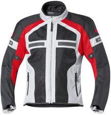Chaqueta de moto held Tropic II talla Xxxl negro / rojo textil verano 6533