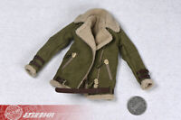 1/6 Women Lambskin jacket sherpa Coat Suit fit 12'' Phicen TBLeague Figure Toy