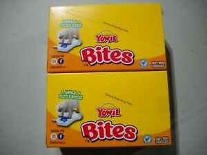 16 Boxes Yowie Bites Chocolate with Surprise Inside Animal Puzzle Series 1 - NEW