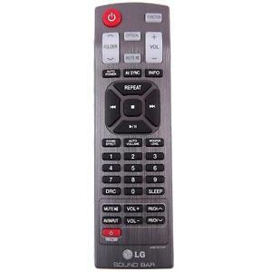 GENUINE LG REMOTE CONTROL AKB73575431 SUITS SOUND BARS - NB3540 NB4540 NB5540