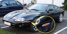 Jaguar XK XK8 XKR 96-06 ROYAL CHROME Front & Rear Reflector Trims 4PCS/set