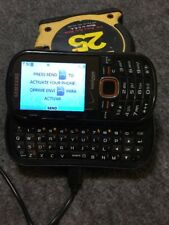 Good Samsung Intensity II - Black Basic Cell Phone Works Good