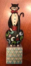 "Jim Shore ""Alfred"" Tuxedo Cat Heartwood Creek 2009 Figurine 4013503"