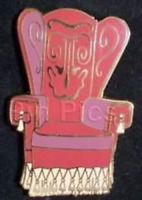 Disney Pin 69945 WDW Haunted Mansion Happy Haunts Ball Chair 2004 Event LE 75