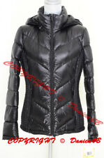 Michael Kors Packable Quilted Hooded Down Puffer Jacket Coat M Black