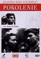 Pokolenie (DVD) Andrzej Wajda (Shipping Wordwide) Polish film