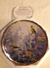 Lenox Collector Plates, Nature's Collage 1992 Golden Splendor