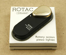 Windmill Rotac Rotary Action Piezo Lighter Made in Japan NewOldStock NOT WORKING