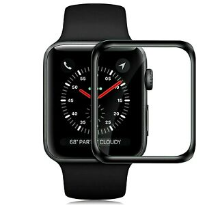 PELLICOLA VETRO TEMPERATO CURVO PER APPLE WATCH SE 40/44MM PROTEZIONE TOTALE 360