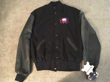 NWT Holloway Black Varsity Jacket, Size M