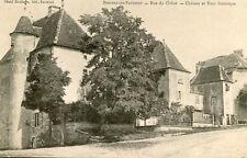 Carte BREUREY LES FAVERNEY Rue du Chêne Château et tour historique