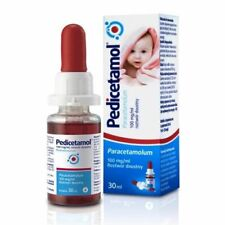 Pedicetamol oral solution for children and infants from birth, 30 ml,