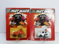 McDonalds 1985 Fast Macs Big Mac Squad Car and Birdie The Early Bird