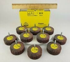 10x Klingspor Abrasive Flapwheel Km613 060 3 X 1 X 14 40 Grit Sanding Grind