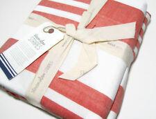 West Elm Steven Alan Cotton Multi Striped Stripes King Duvet Cover New