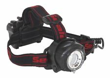 Sealey HT107LED 5 W Torcia da Testa CREE XPG LED con luminosità regolabile Focus &