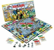 Monopoly The Simpsons Edition ~ 2001 Release ~ Factory Sealed
