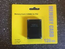 Brand New Sealed Playstation 2 PS2 128MB Memory Card In Packaging NIB