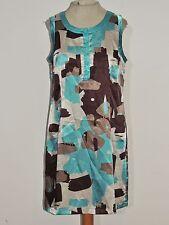 Vertigo Satin Dress w Rhinestone Buttons sz MED