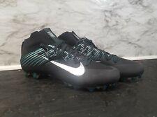 Nike Vapor Untouchable 2 Football Cleats Mens Sz11 Black Silver Green Eagles New