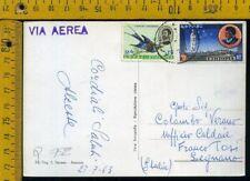 Ethiopia Etiopia Cover busta postcard to Italy Q 752