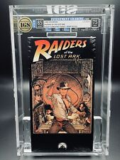 VHS Raiders of the Lost Ark IGS 8.5-7.5 4th Press 1989